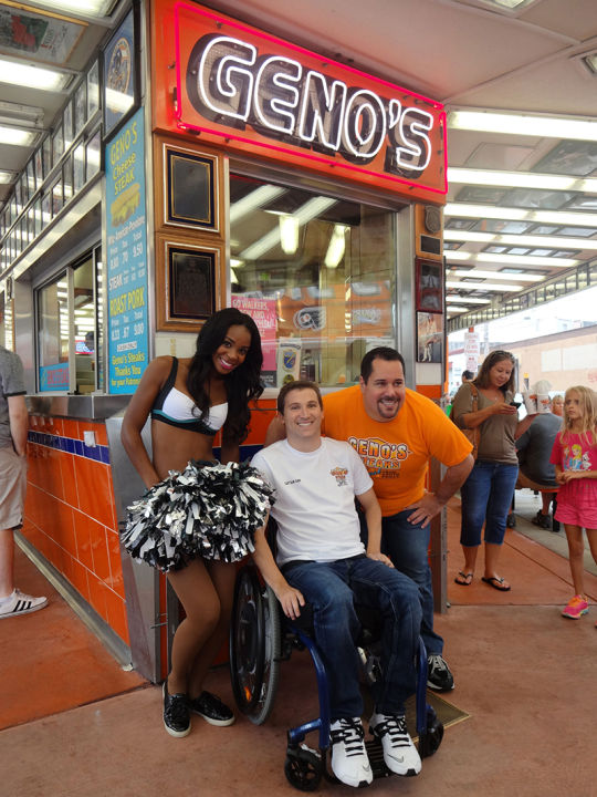 Geno Vento Donates $53,107 to Young Man In Need