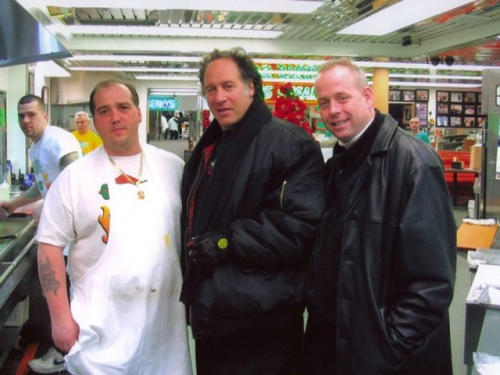 Andrew Dice Clay at Geno's Steaks