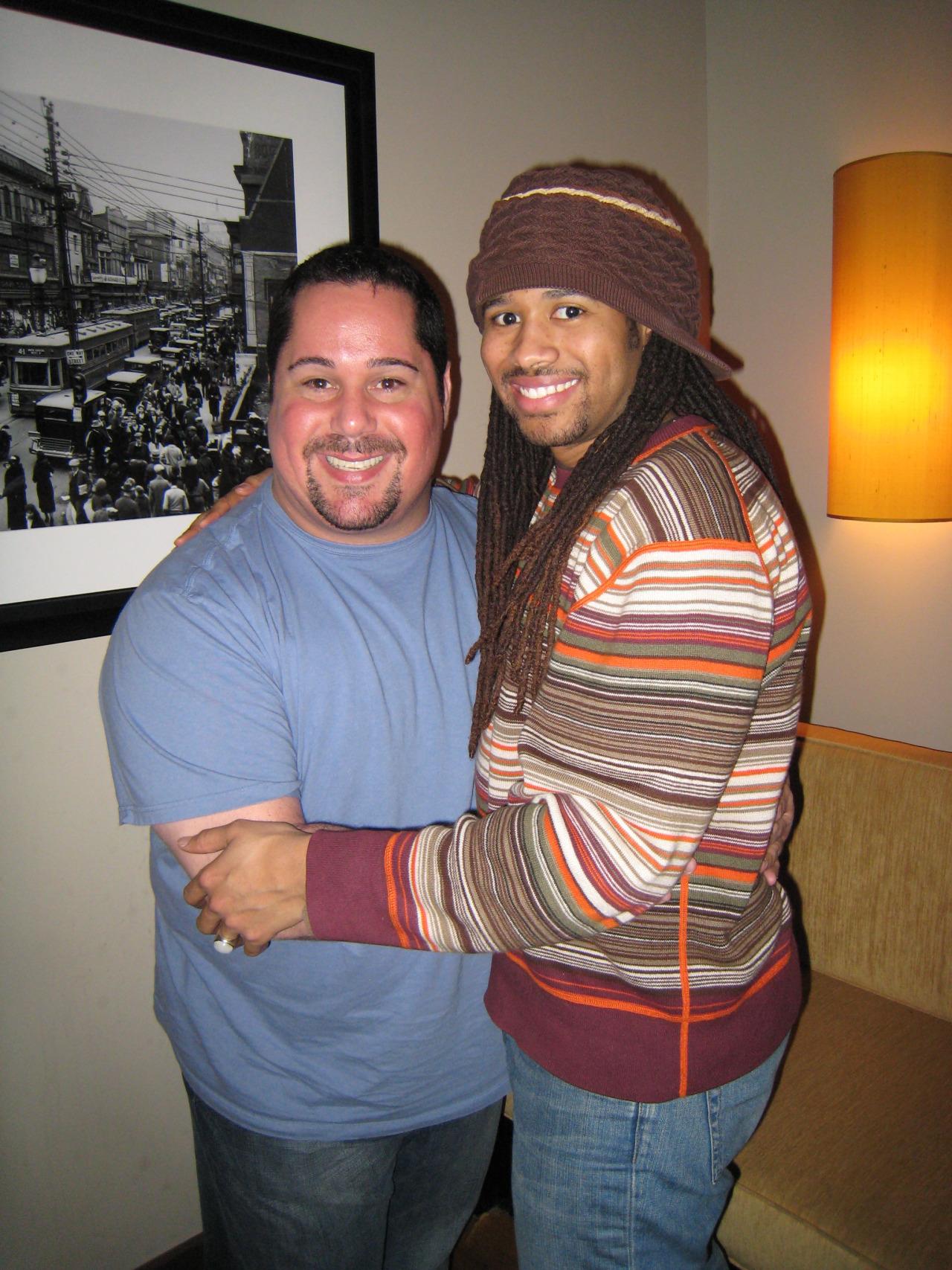 Anwar Robinson and Geno