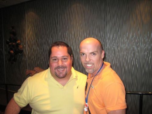 Buddy Casimano and Geno