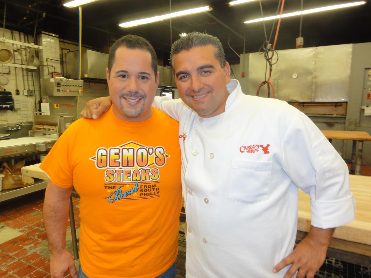 Buddy Valastro and Geno