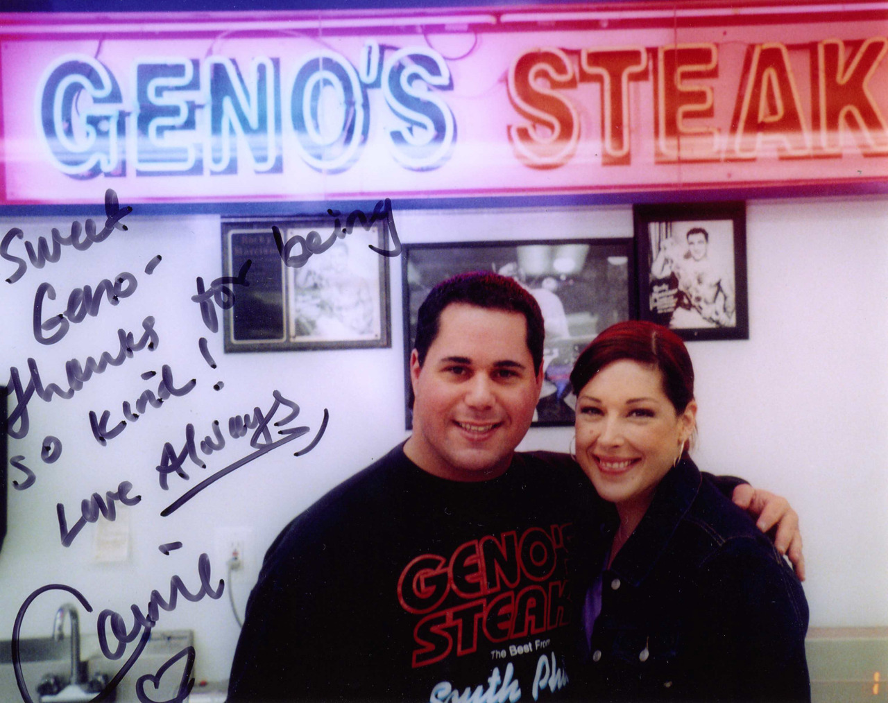 Carnie Wilson and Geno