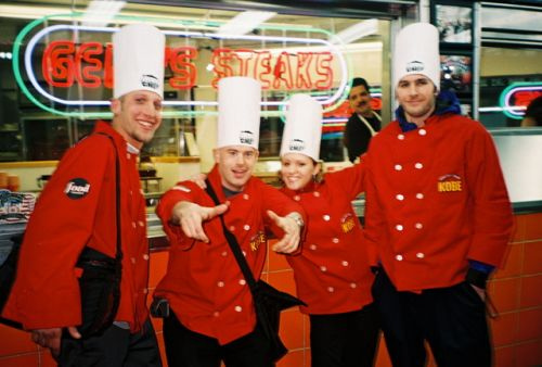 Chefs of America at Geno's Steaks