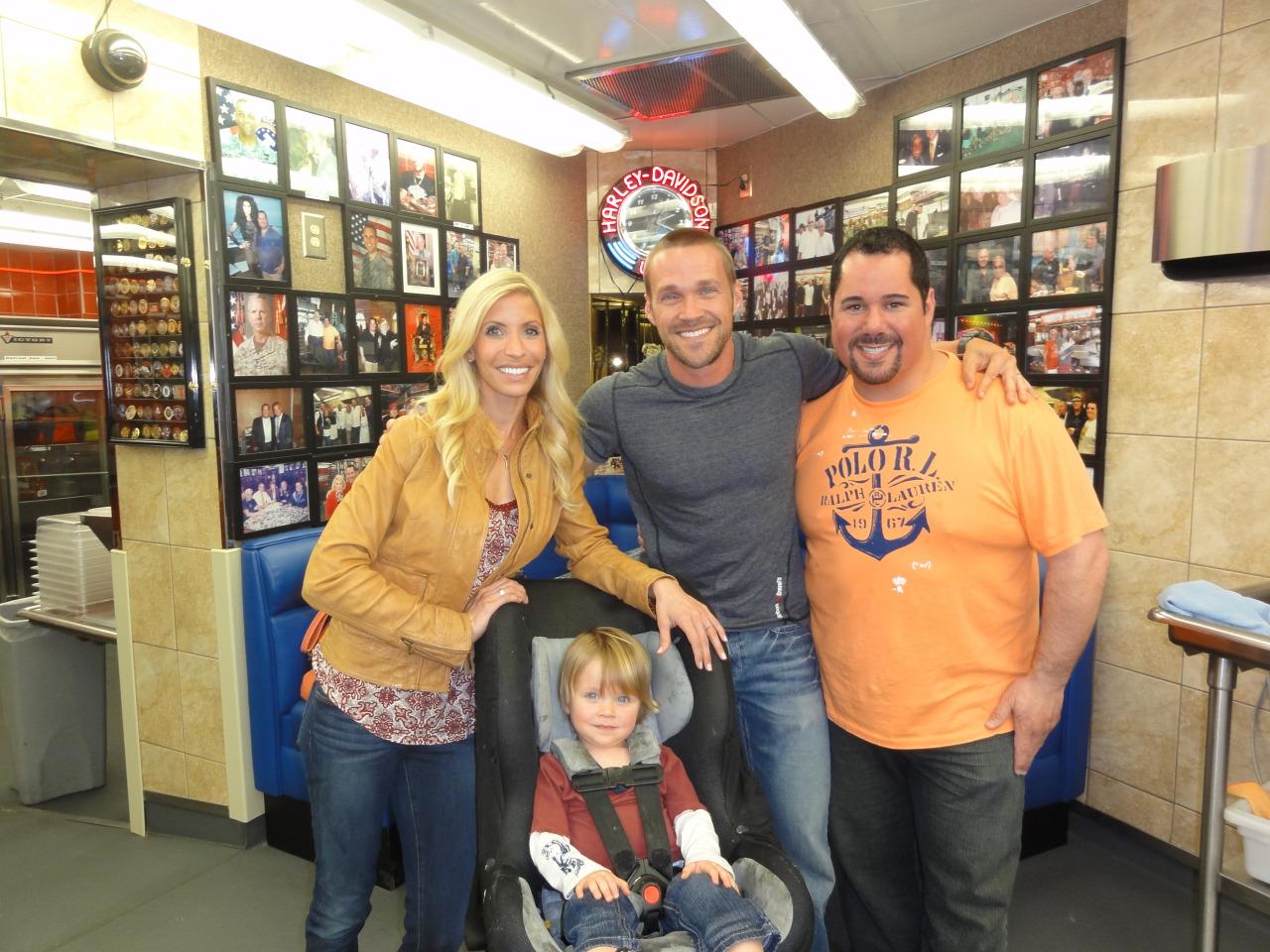 Chris and Heidi Powell and Geno