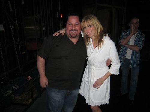 Debbie Gibson and Geno