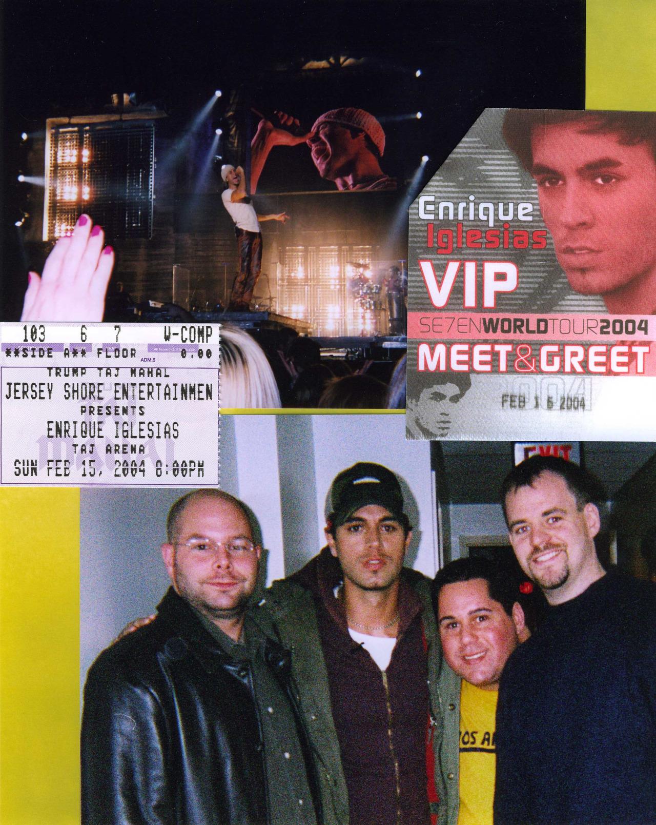 Enrique Iglesias and Geno