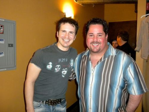 Hal Sparks and Geno