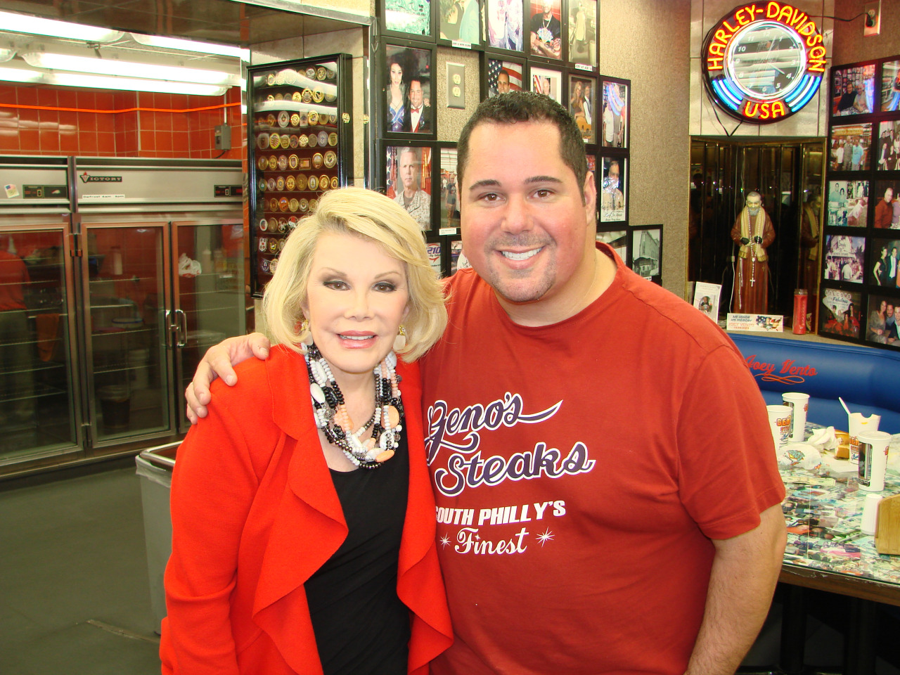 Joan Rivers and Geno