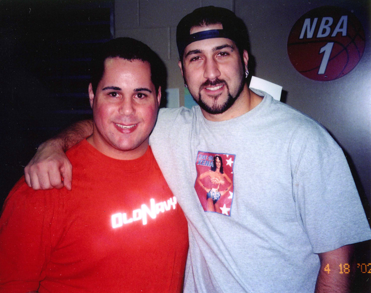 Joey Fatone and Geno