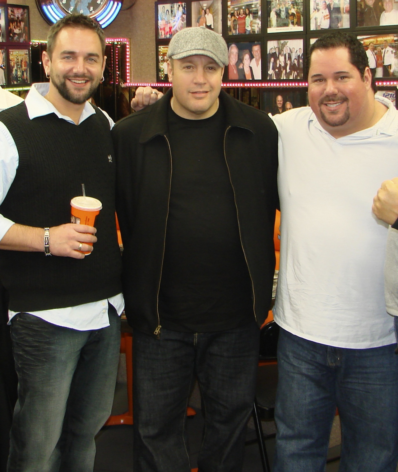 Kevin James and Geno