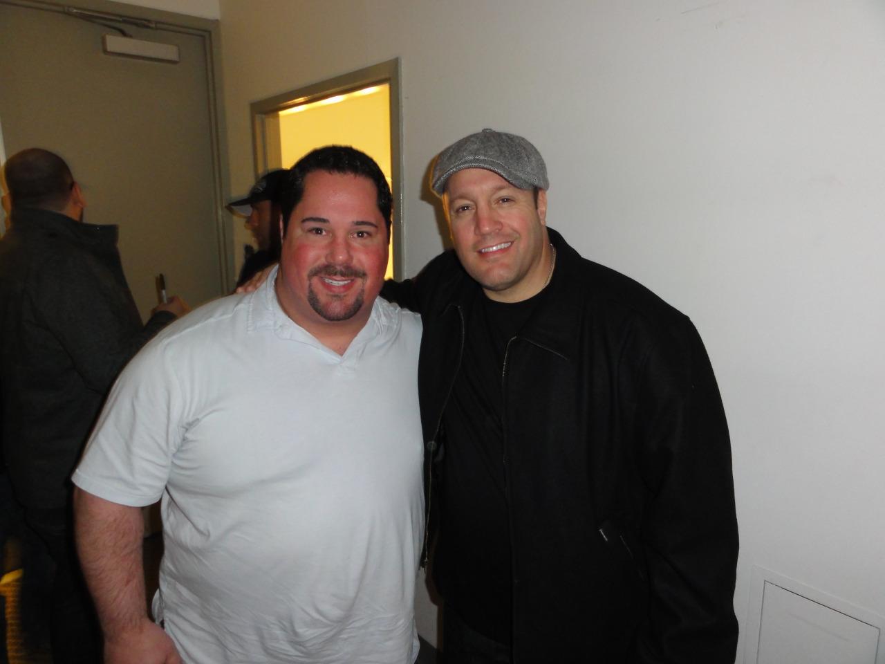 Kevin James and Geno