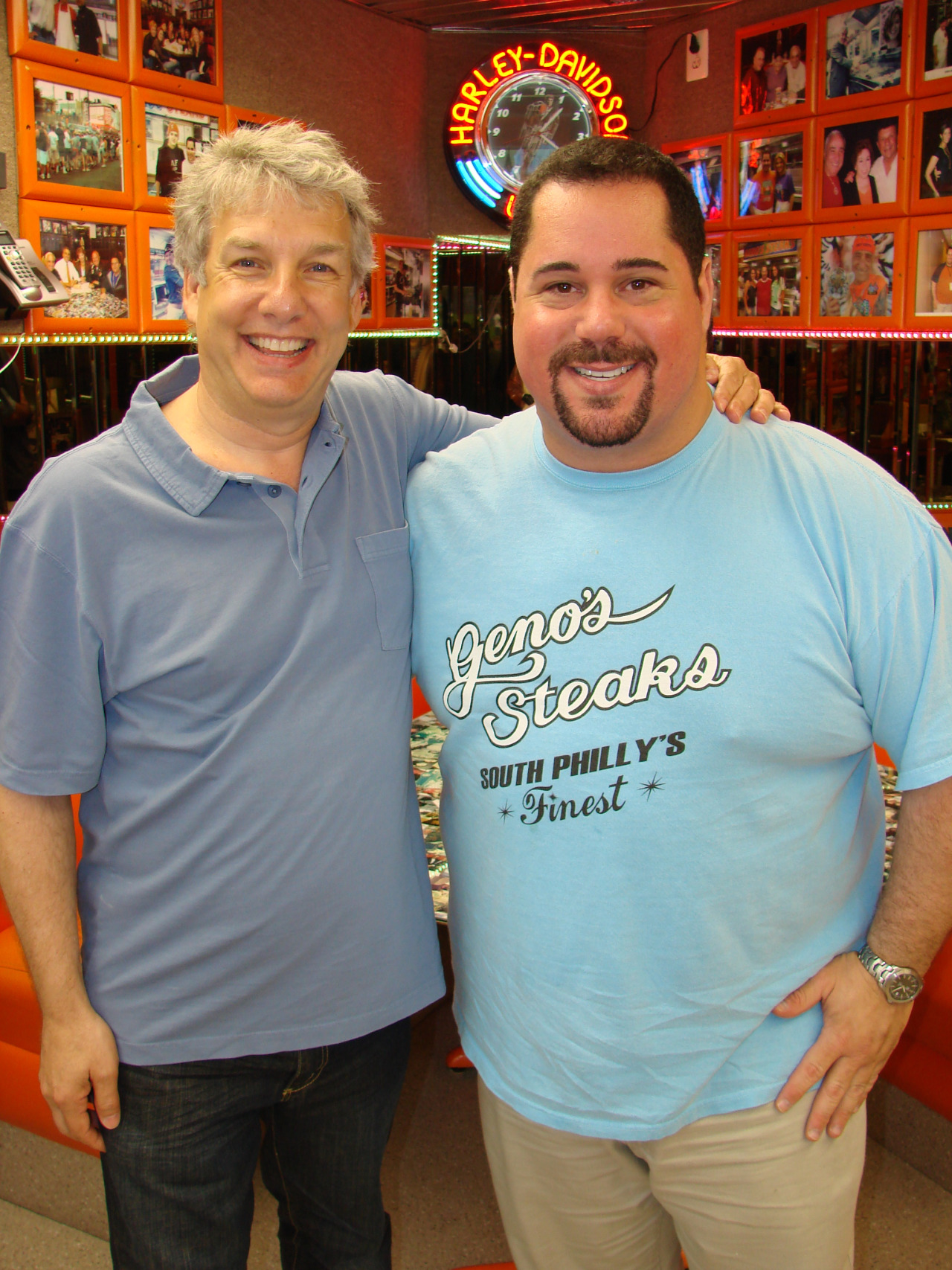 Marc Summers and Geno
