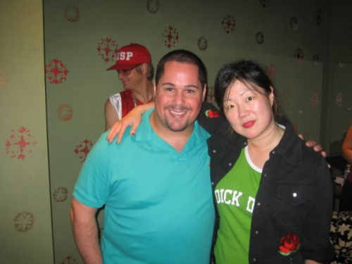 Margaret Cho and Geno