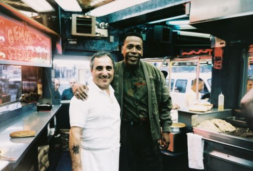 Meshach Taylor at Geno's Steaks
