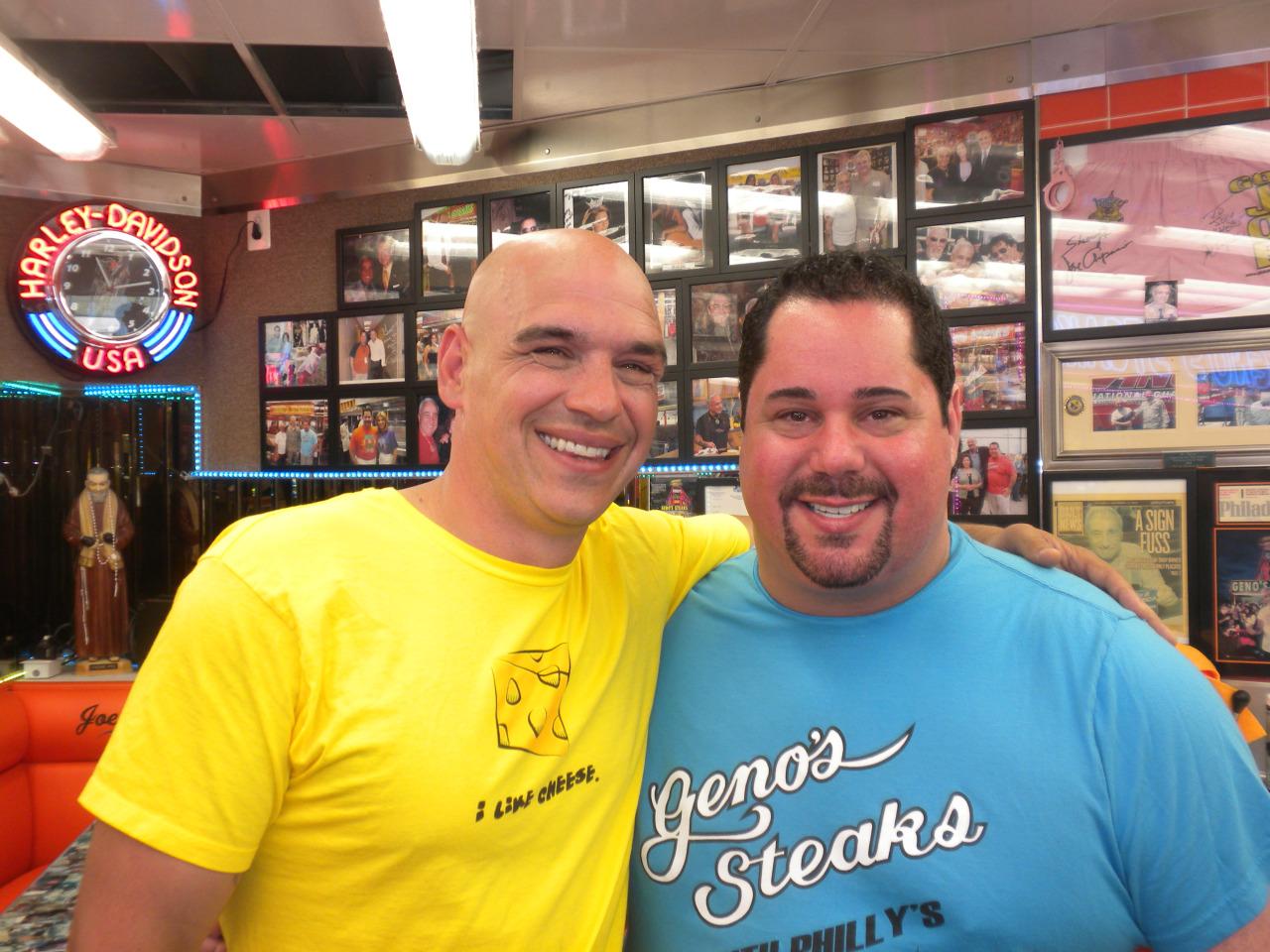 Michael Symon and Geno