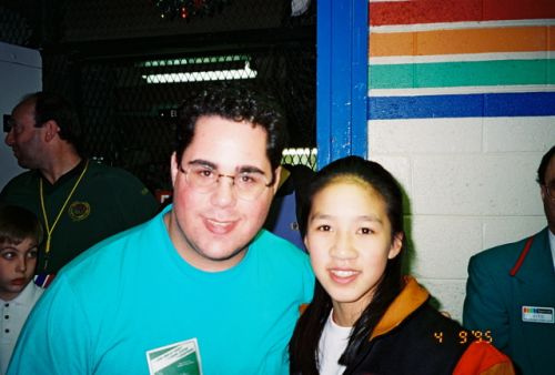 Michelle Kwan and Geno