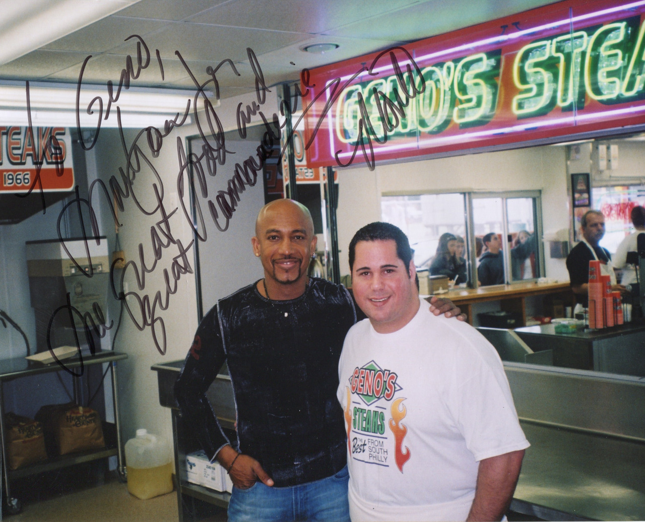 Montell Williams and Geno