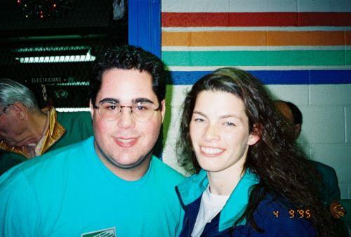 Nancy Kerrigan and Geno