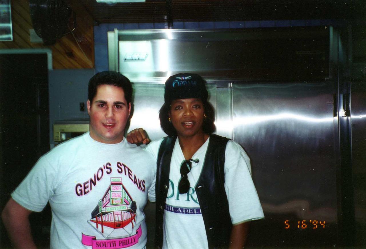 Oprah Winfrey and Geno