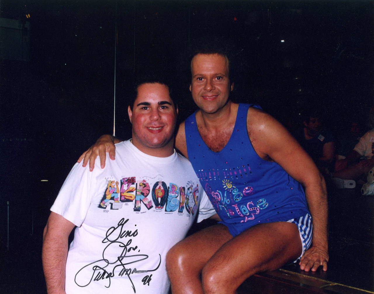 Richard Simmons and Geno
