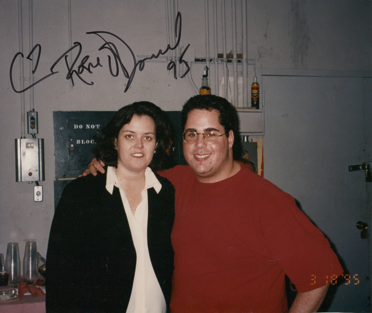 Rosie O'Donnell and Geno