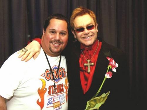 Sir Elton John and Geno