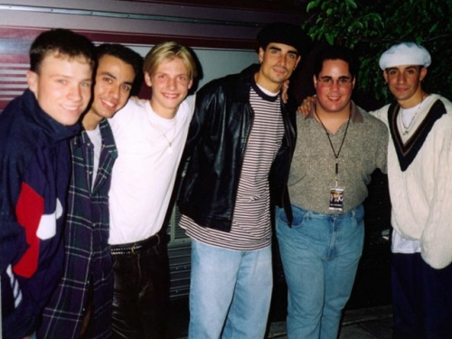 The Backstreet Boys and Geno