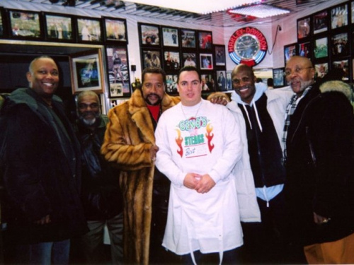 The Drifter's at Geno's Steaks
