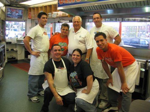 Tommy LaSorda at Geno's Steaks