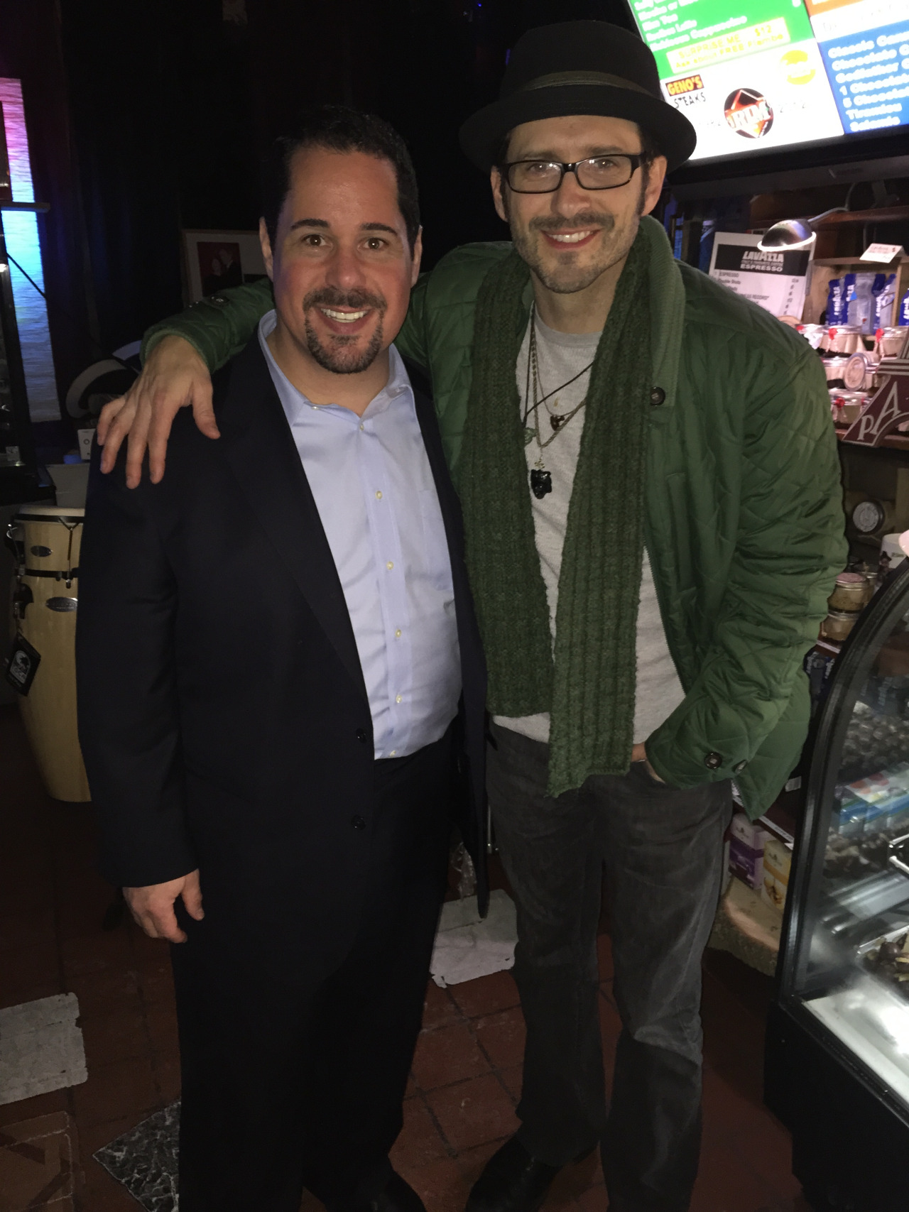 Tony Lucca and Geno