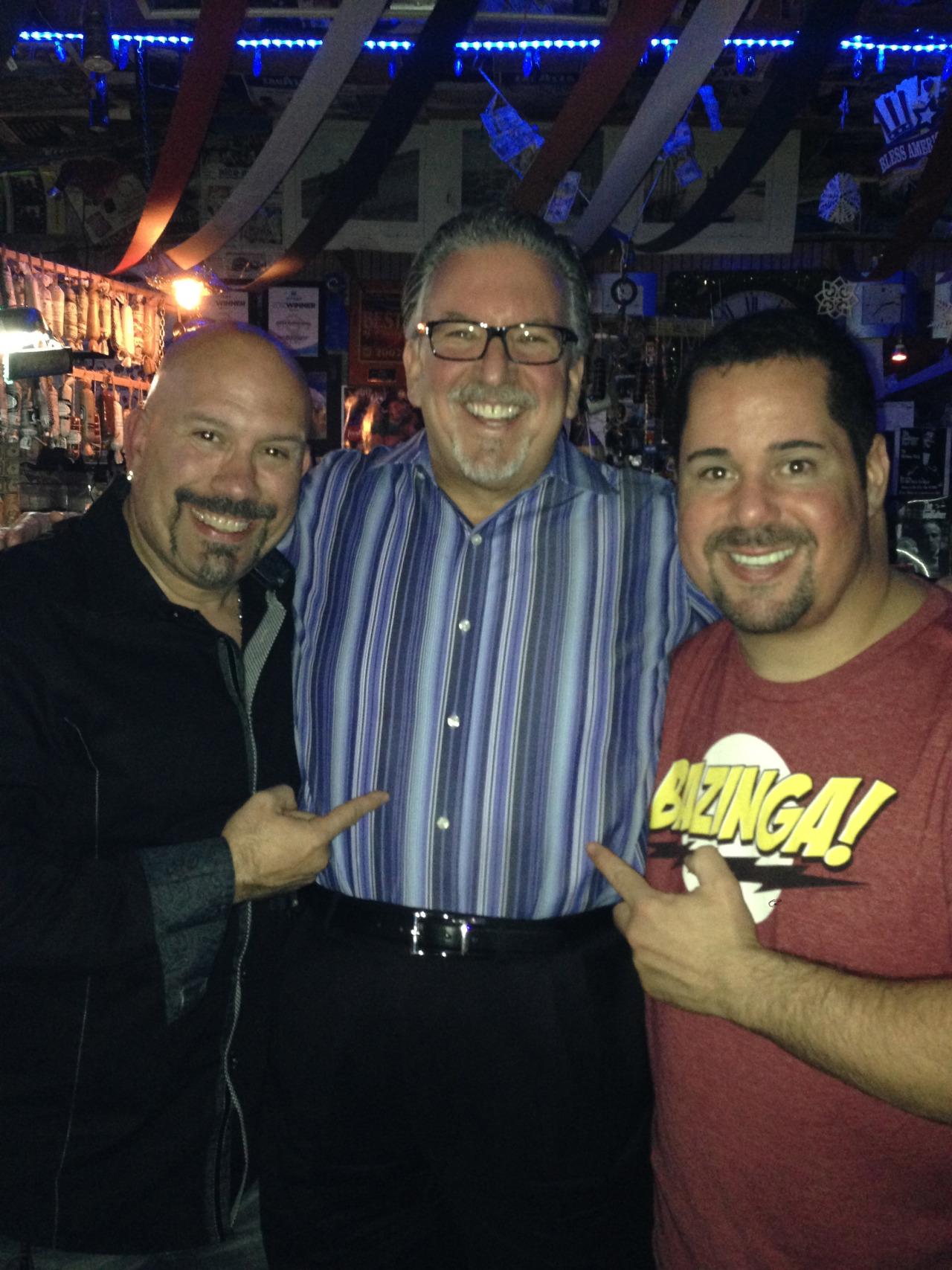 Tony Luke, Larry Cohen, and Geno