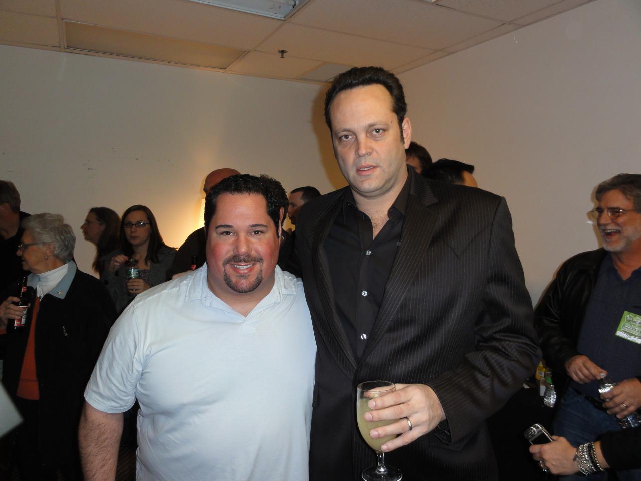 Vince Vaughn and Geno