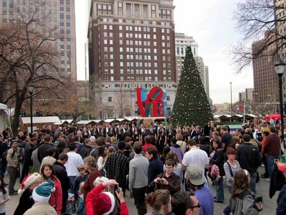 Take a Stroll Through the Christmas Village in Philadelphia