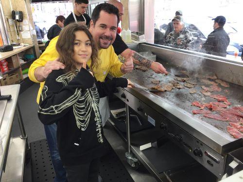 Flipping Steaks with Jesse Gunn