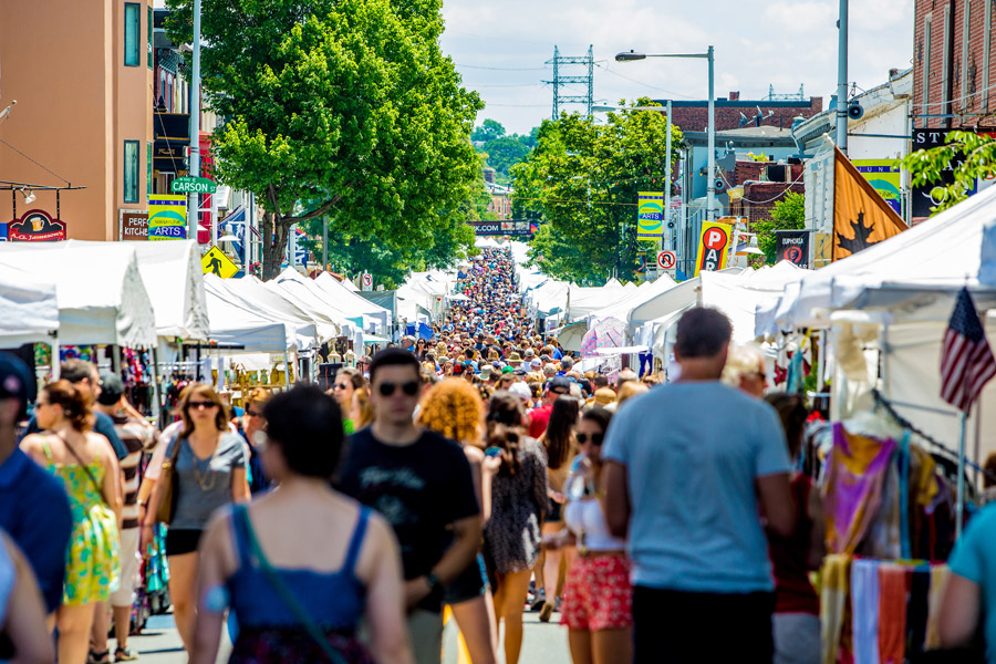 Stop by the Manayunk Arts Festival this Summer