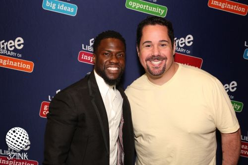 Comedian Kevin Hart and Geno