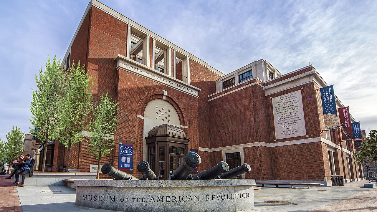 Take a trip to the 1700s at the Museum of the American Revolution!