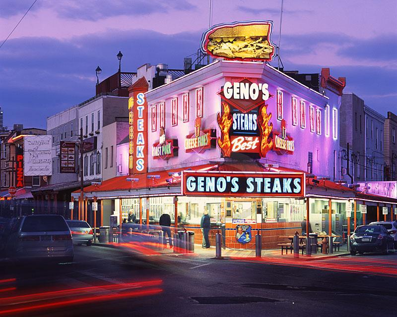 Around South Philly Review: Geno's Steaks