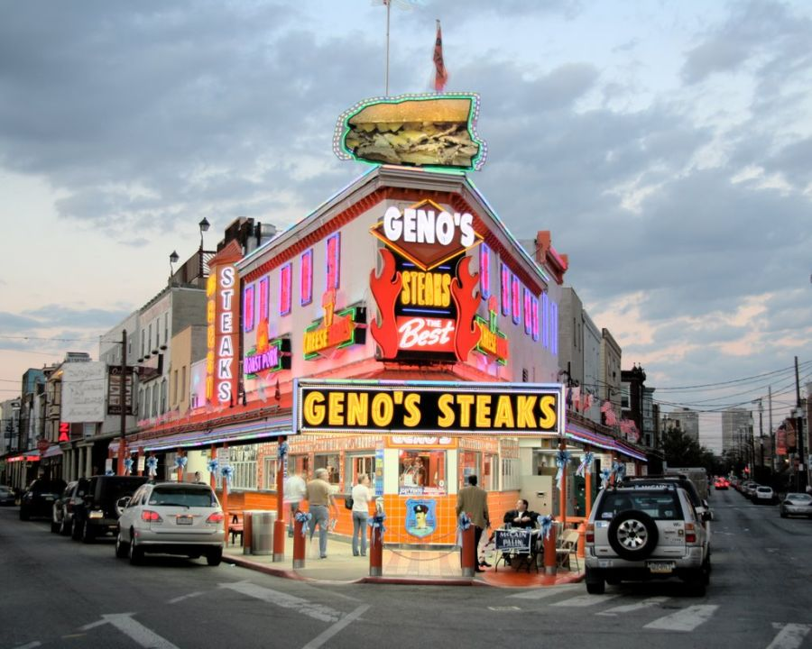 Geno's Steaks Ranks #4 on Philadelphia Business Journal Cheesesteak List