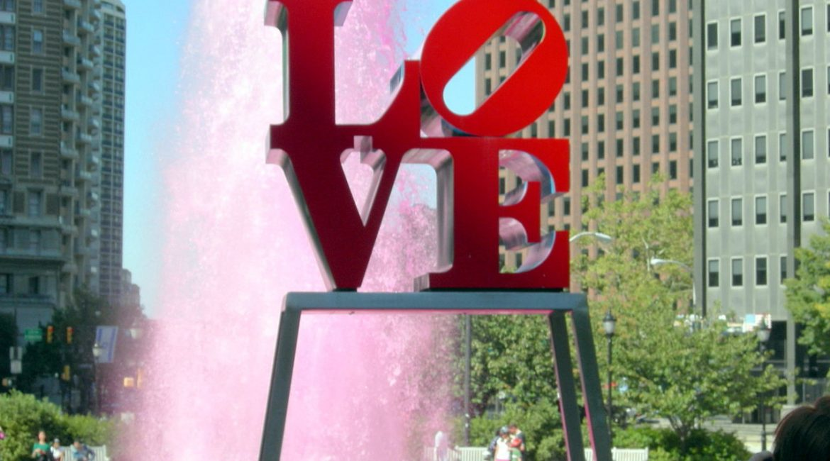 Philadelphia attractions: LOVE Park