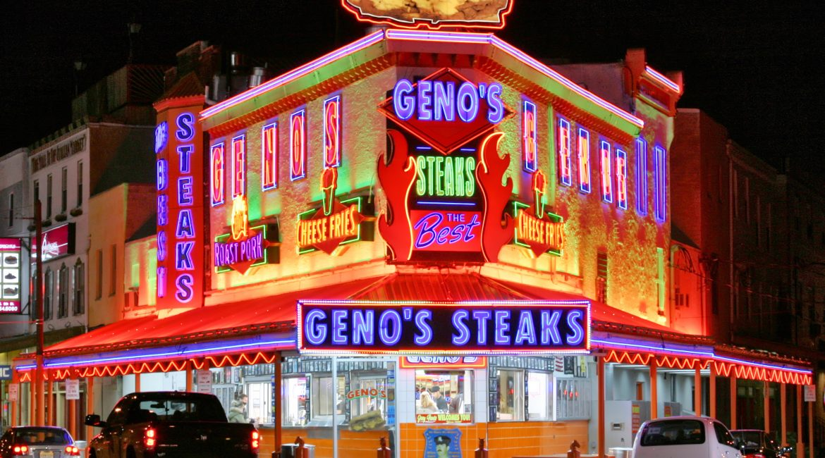 Famous Philly Cheesesteaks from Geno's