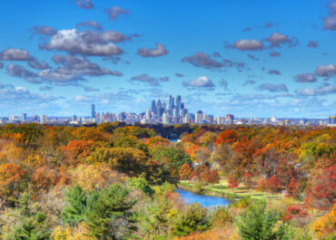 Fall in Philly is the Right Time to Get Outside, Get a Few Photos, Grab Geno's Cheesesteak