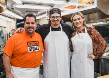 Hardy's Visit to Geno's Steaks