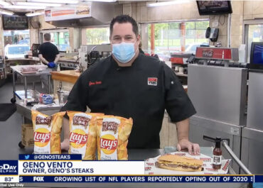 Fox29 - Lay's New Geno's Cheesesteak Potato Chips