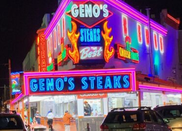 New Geno's Lighting to Raise Awareness for A Cause