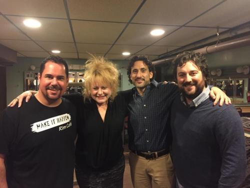 Missy Grynkiewicz, Marc Kaye, Mark Riccodonna