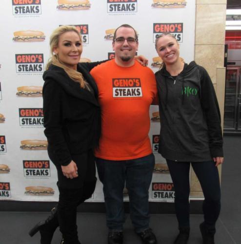 WWE's Natalya Neidhart & Ronda Rousey